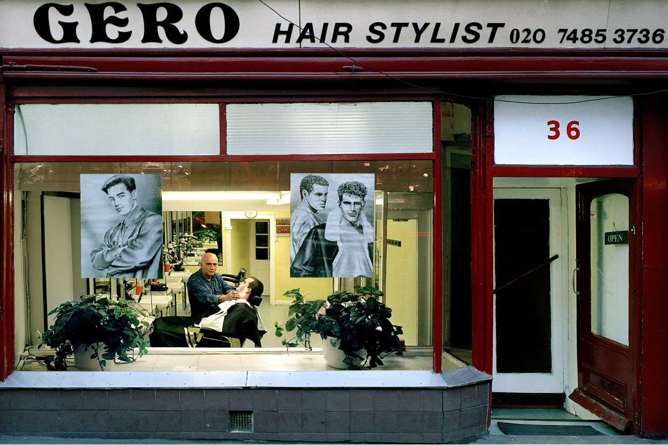hairdresser with style